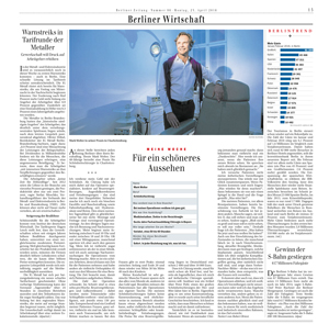 Berliner Zeitung, Dr. Wolter: Beeindruckend, wie viel Dankbarkeit ein Schönheitschirurg bekommt
